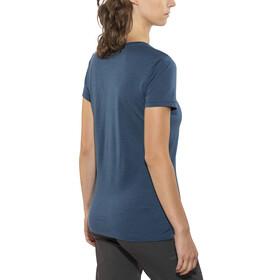 Icebreaker Tech Lite - Camiseta manga corta Mujer - azul